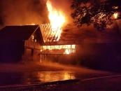 Gebäudebrand nach Blitzschlag - 15.07.18_1
